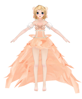 MMD Rin Corrupted Flower WIP 3 by miku-chan91
