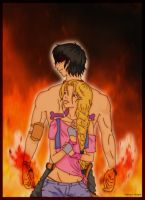 Fire Hearts colour by deviart4ever