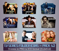 TV Series - Icon Pack 42 by apollojr