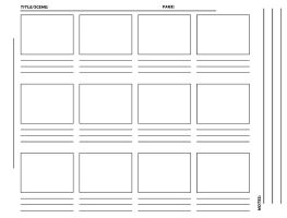 Storyboard Template hirez TIFF by westwolf270
