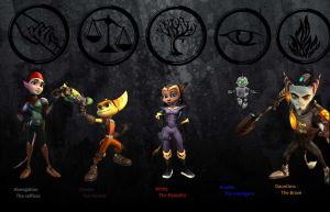 Ratchet and clank Factions by Ravenswood2014