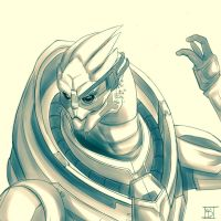 Garrus by ChaiCheerio