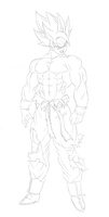 Legend of Goku  W.I.P by Gothax
