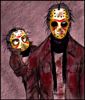 Jason Voorhees: Old meets New by Cageyshick05