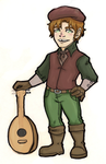 Tavish The Bard by Baby-Crow