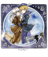 APH Nordic brothers by MaryIL
