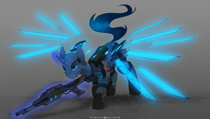 Future Soldier by FoxInShadow