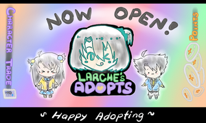 Larche's Adopts Now Open! by TheAwesomeAki-kun