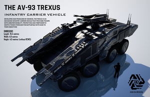 The AV-93 Trexus ICV (FULL HD) by Duskie360