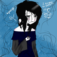 Creepypasta OC Artist and Tinyman : Stop...Please! by Xx-MayhemOnMisery-xX