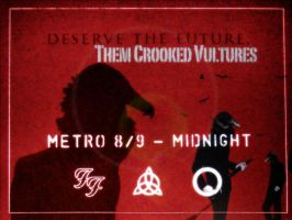 Them Crooked Vultures Wallpape by FighterOfFoos