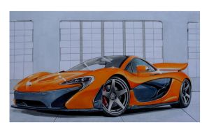 MC LAREN MP1 by Stephen59300