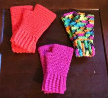 More fingerless gloves by FreakieGeekie