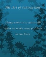 The Art of Subtraction by quentinlars