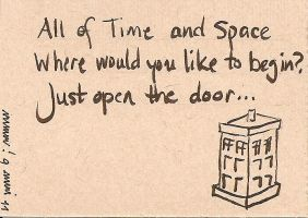 39: TARDIS haiku by CrazyFoxMoon