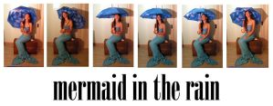 mermaid in the rain pack by syccas-stock
