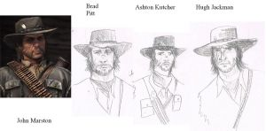 The Faces of John Marston by RabidDog008