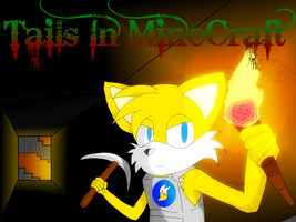 Tails MineCraft Journey Cover 1 by RandomFoxFan