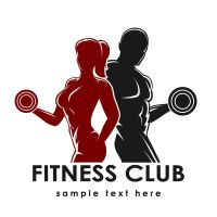 Fitness Club Logo Vector by FreeIconsdownload