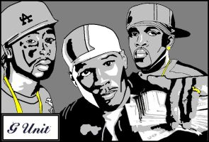 g-unit by tortured-spirit149