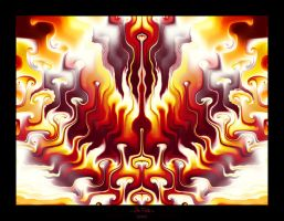 In Fire - Golubaja by Ultra-Fractal