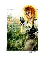 The Goblin King... or the Battle of the Bulge by hoganvibe
