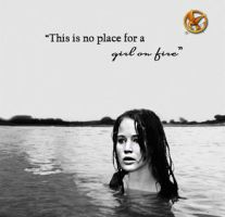 No place for a girl on fire by Sian93