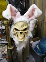 Custom killer skull bunny by DarkAsylumxxx