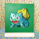 12x12 Bulbasaur Painting by redroseelcamino
