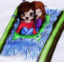 Tammy loves waterslides 8D by Tammyyy