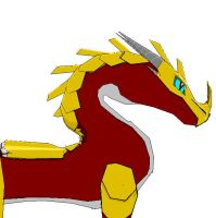 Sergh the dragon by pokefreak243