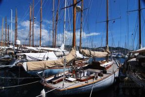 Cannes Boats by GabOrcinus