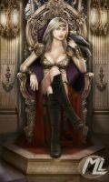 Queen Sheila The Villain TEAM CYCLONE by Maryneim