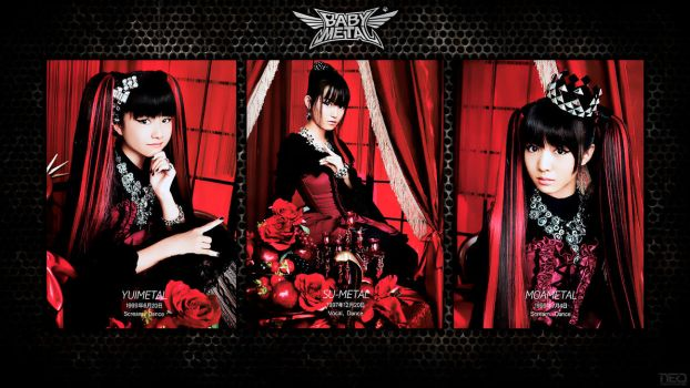 BABYMETAL Queens by NEO-Musume