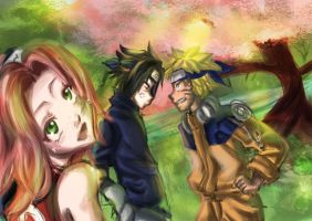 Naruto: The Good Old Days by kurohime27