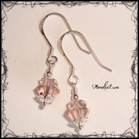 Sterling Swarovski Earrings by AmeliaLune