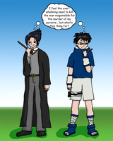 When Harry Met Sasuke by chibidrunksanzo