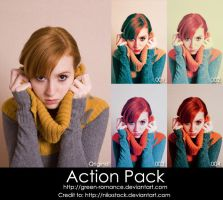 Adobe Photoshop Action Pack by Green-Romance