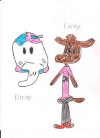 Candy and Ranae by 0640carlos