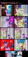 Comic 33: Twilight's Fantasy VI. by ZSparkonequus