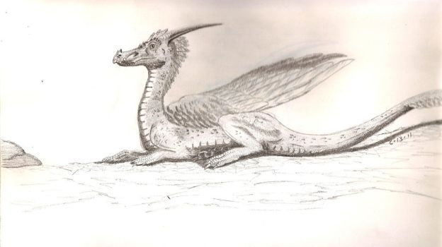 Feathered Dragon by SlateGray