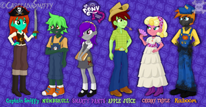 MLP: Equestria Girls Style by CapitainSmiffy