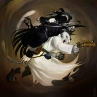 Death Duo :: Midst of Battle by crMeyer