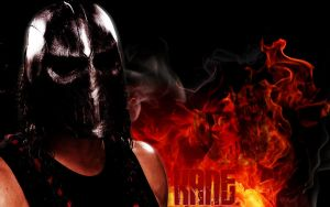WWE Kane Be Afraid Wallpaper by enigma7gfx