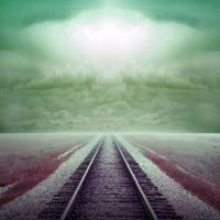Premade BG Rails to nowhere by E-DinaPhotoArt