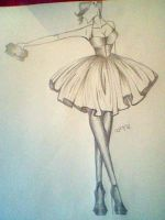 Fashion Sketch 8. by Sophi-Jayne