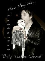 Leigh Whannell NomNomNom by StarryStarry-Night