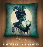 WICKED PILLOW by telegrafixs