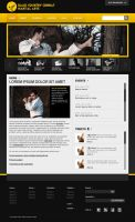 Black Country Combat Web Design by taki3