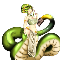 MosnterGirl:Naga [Adopt- Closed] by Bokcutter